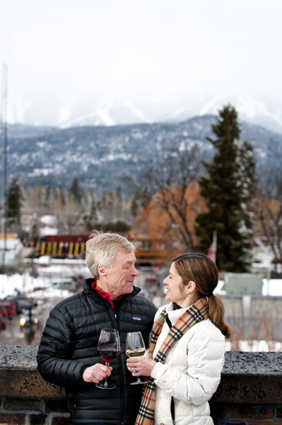 whitefish montana engagement