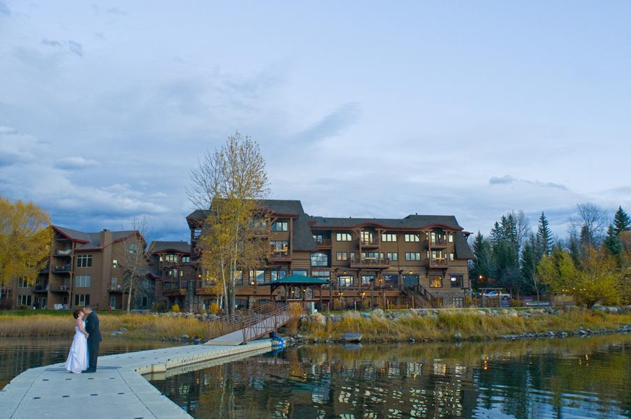 Whitefish Lake Lodge Wedding Cou Studio Montana