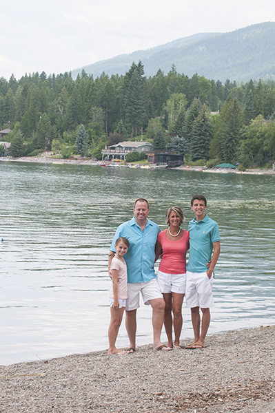 whitefish montana lake family photos
